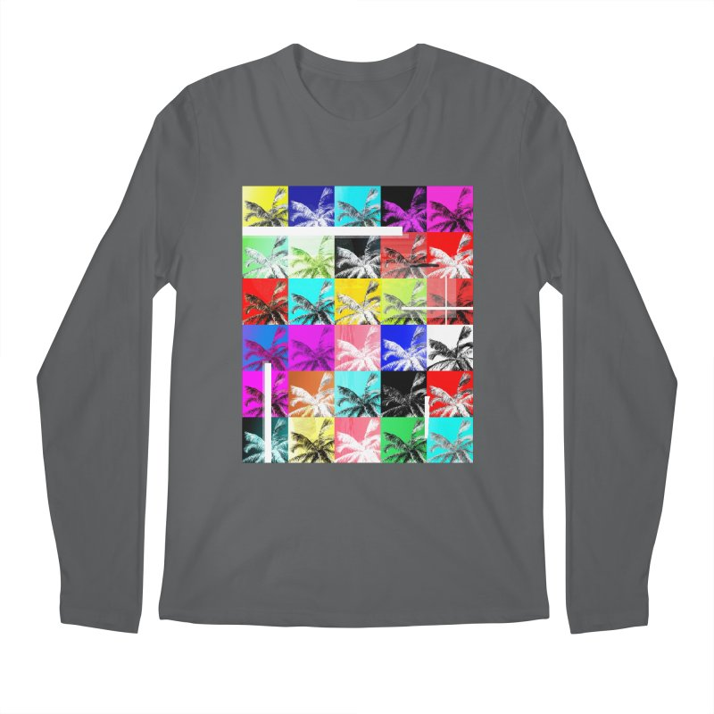 All the Palms Men's Longsleeve T-Shirt by The Artist Shop of Ben Stevens