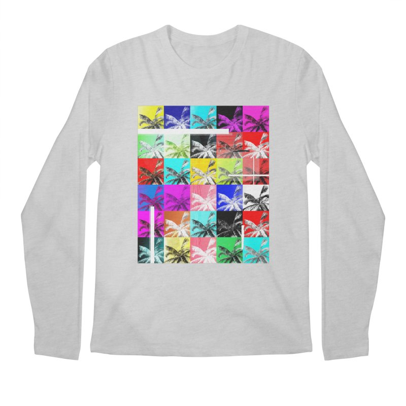 All the Palms Men's Regular Longsleeve T-Shirt by The Artist Shop of Ben Stevens