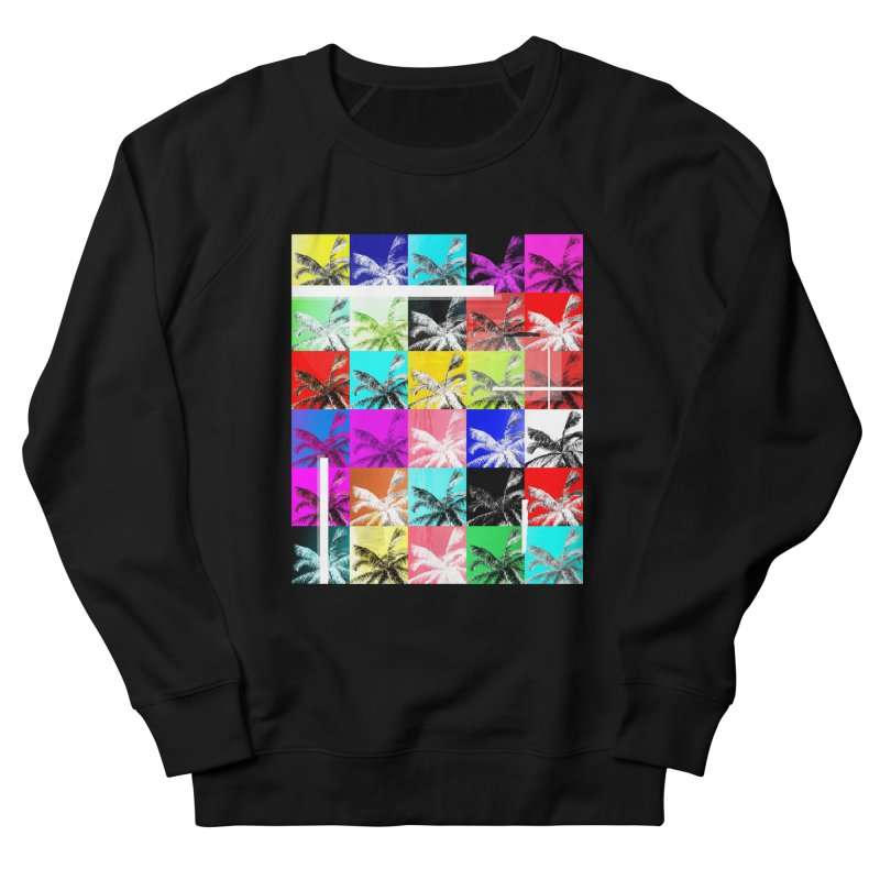 All the Palms Women's French Terry Sweatshirt by The Artist Shop of Ben Stevens