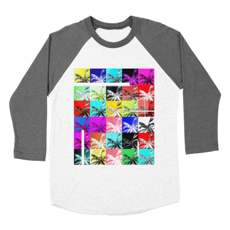 All the Palms Women's Baseball Triblend Longsleeve T-Shirt by The Artist Shop of Ben Stevens