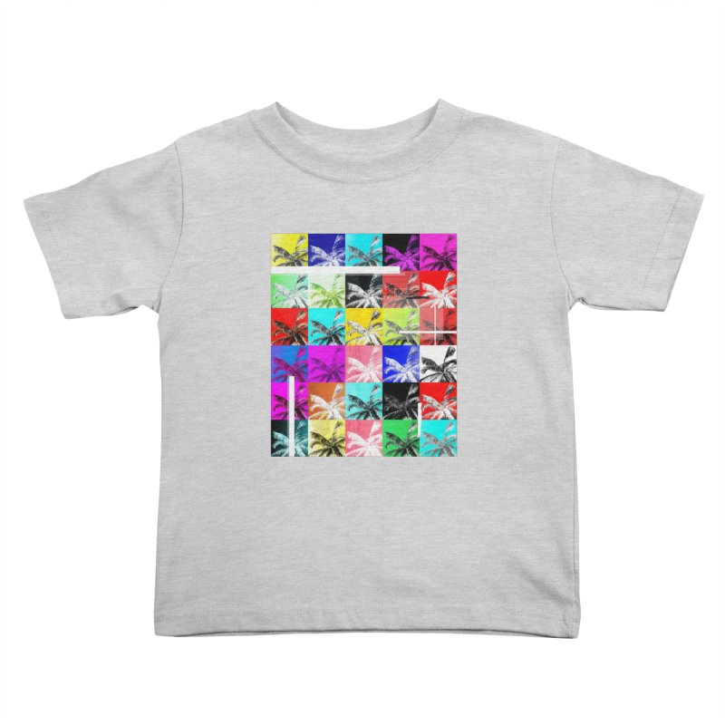All the Palms Kids Toddler T-Shirt by The Artist Shop of Ben Stevens