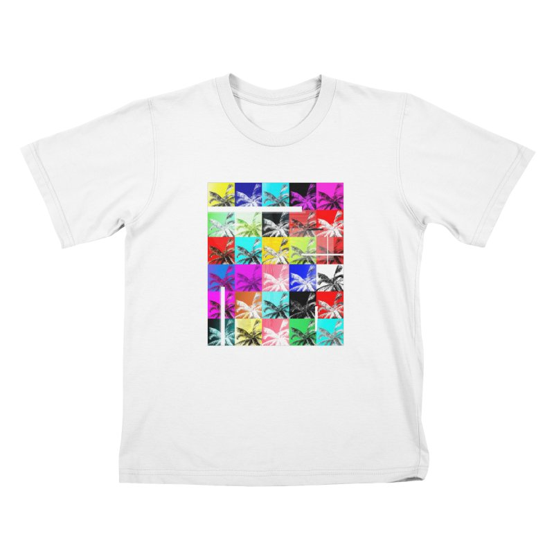 All the Palms Kids Toddler T-Shirt by The Artist Shop of Ben Stevens