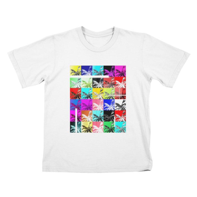 All the Palms Kids T-Shirt by The Artist Shop of Ben Stevens