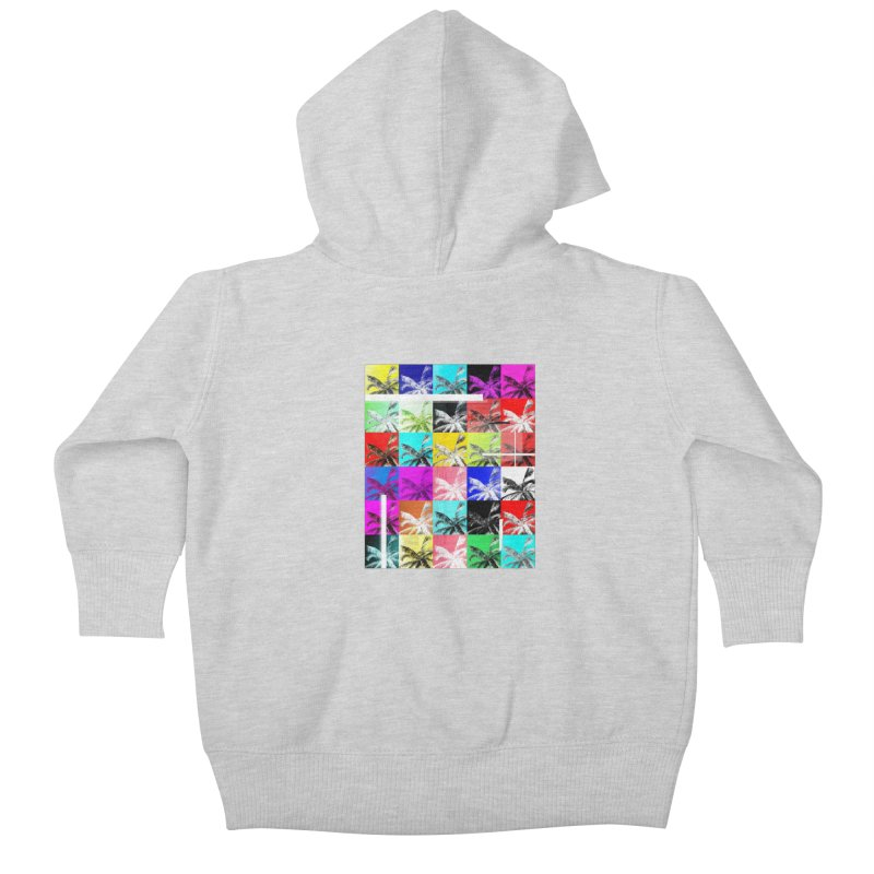All the Palms Kids Baby Zip-Up Hoody by The Artist Shop of Ben Stevens
