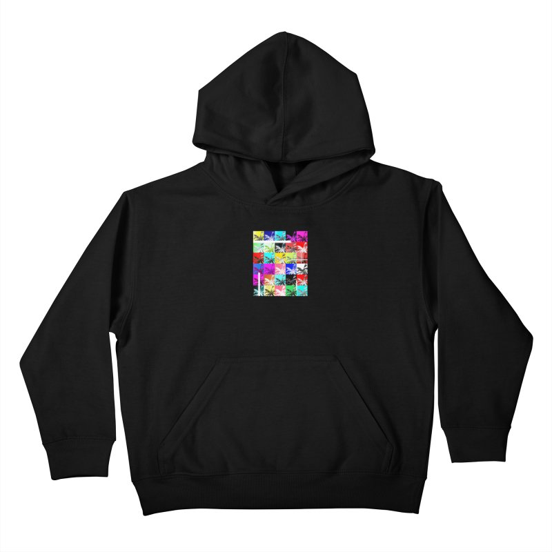 All the Palms Kids Pullover Hoody by The Artist Shop of Ben Stevens
