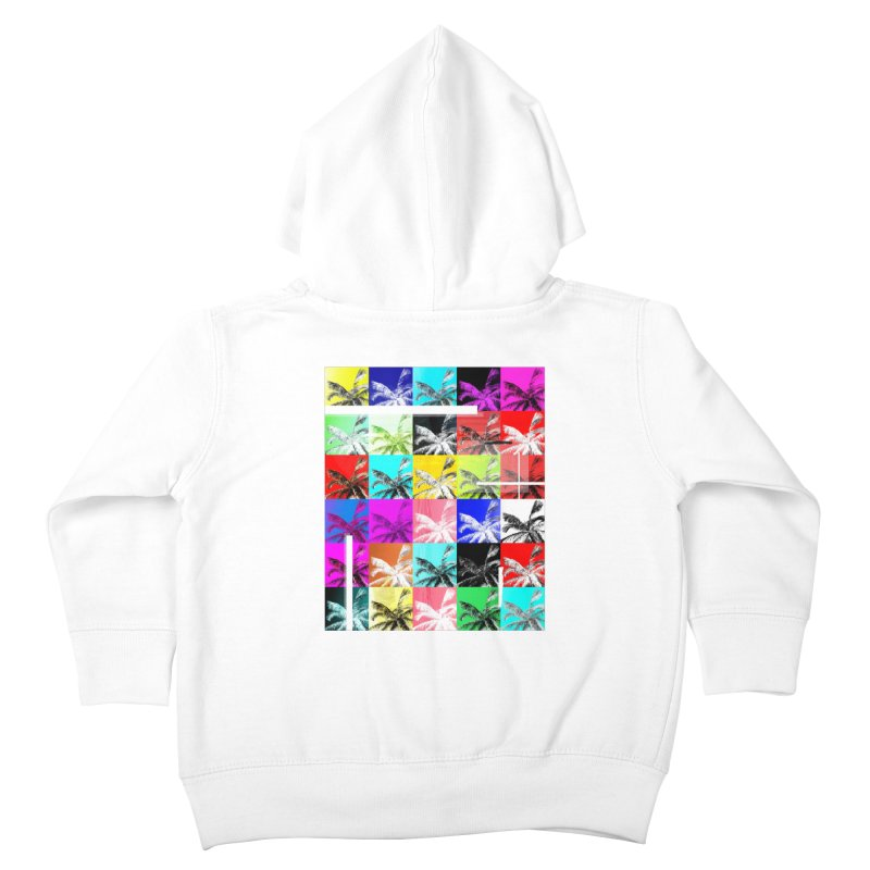 All the Palms Kids Toddler Zip-Up Hoody by The Artist Shop of Ben Stevens