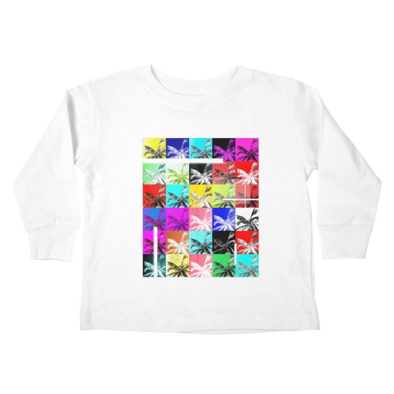 All the Palms Kids Toddler Longsleeve T-Shirt by The Artist Shop of Ben Stevens