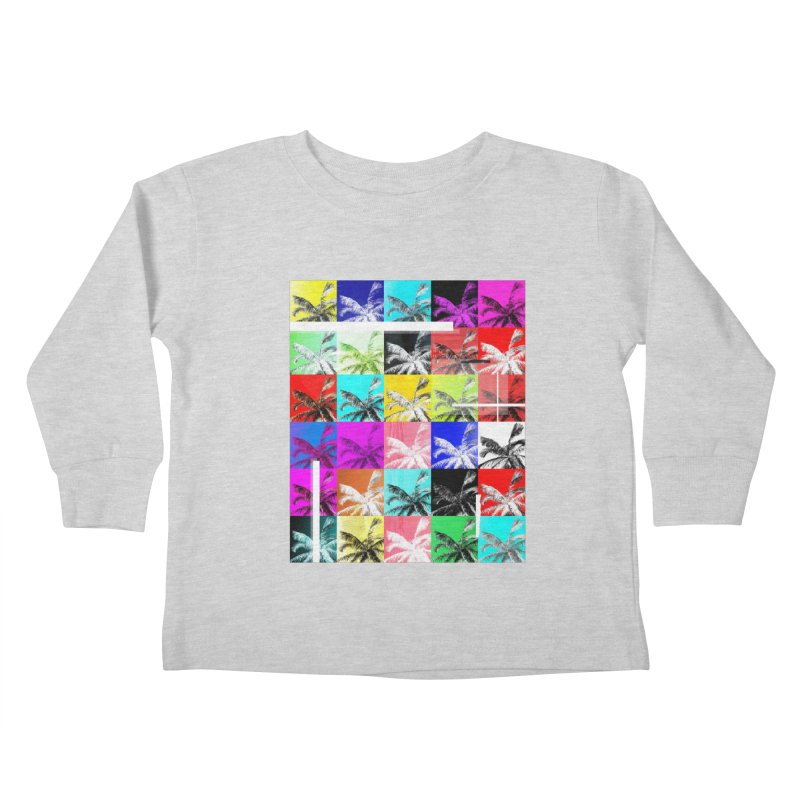 All the Palms Kids Toddler Longsleeve T-Shirt by The Artist Shop of Ben Stevens