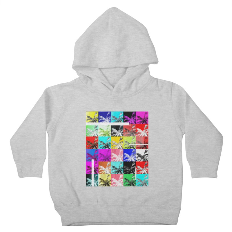 All the Palms Kids Toddler Pullover Hoody by The Artist Shop of Ben Stevens