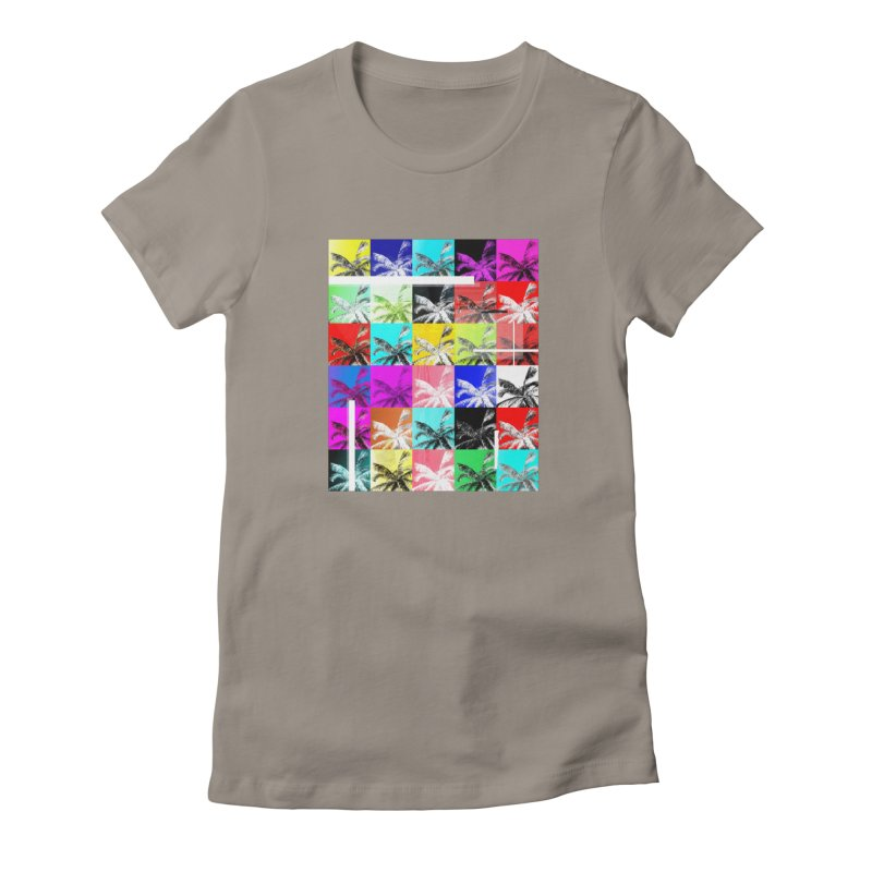 All the Palms Women's T-Shirt by The Artist Shop of Ben Stevens