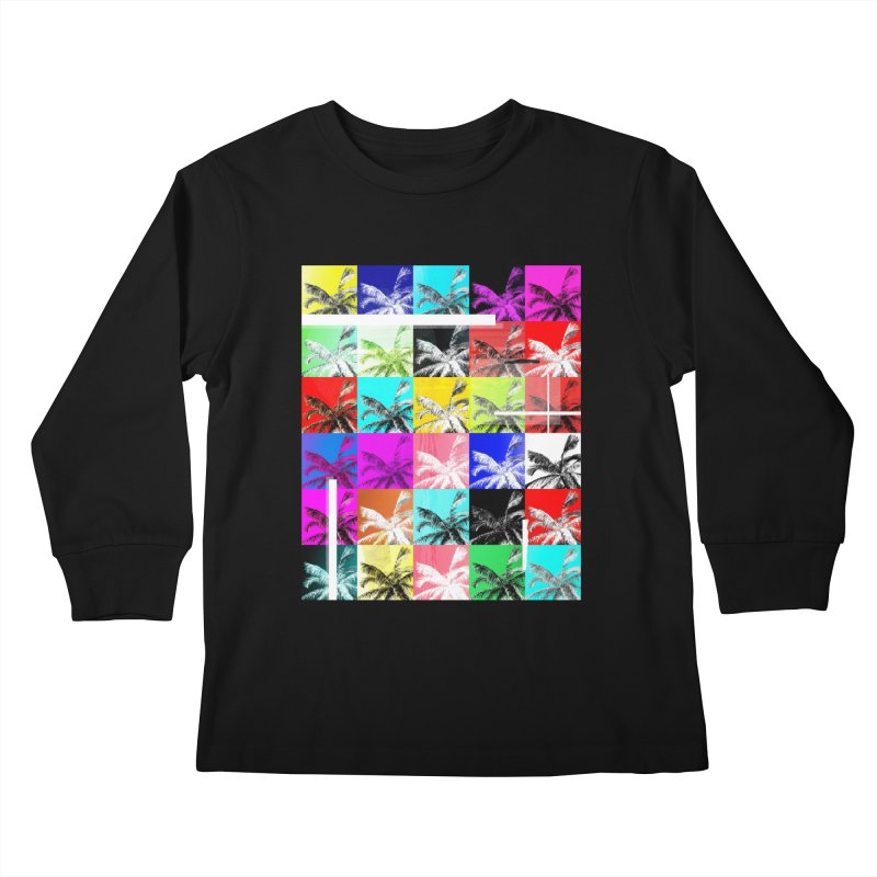 All the Palms Kids Longsleeve T-Shirt by The Artist Shop of Ben Stevens