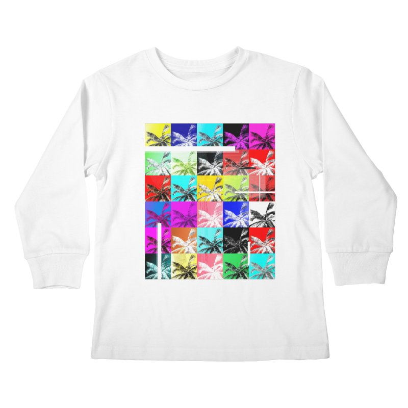 All the Palms Kids Longsleeve T-Shirt by The Artist Shop of Ben Stevens
