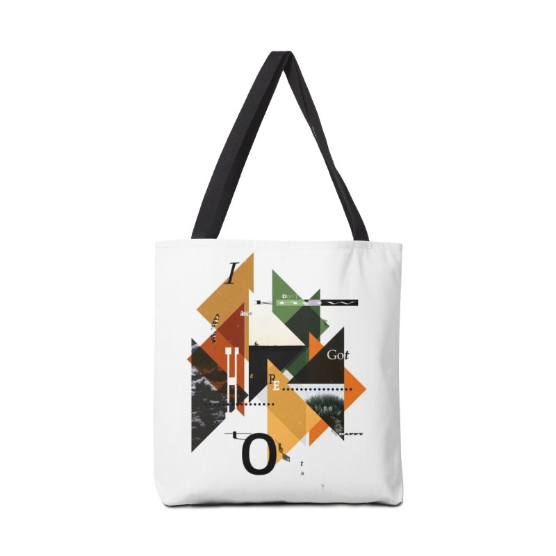I don't know how we got here... but I'm happy to stay Accessories Tote Bag Bag by The Artist Shop of Ben Stevens