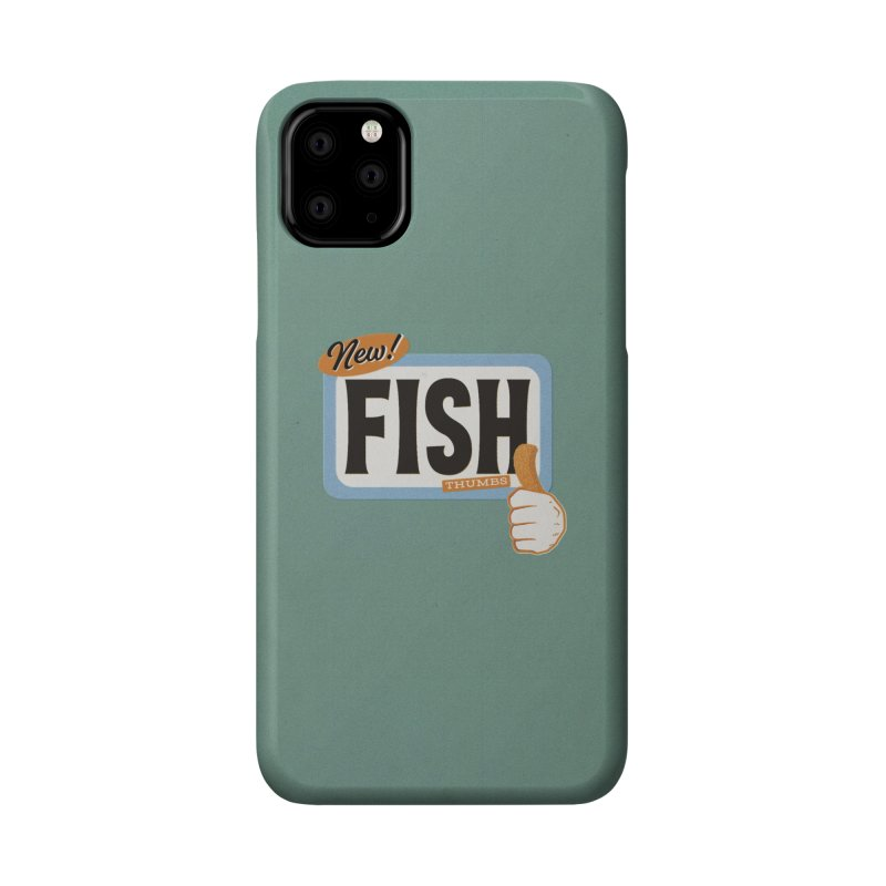 Fish Thumbs Accessories Phone Case by The Artist Shop of Ben Stevens