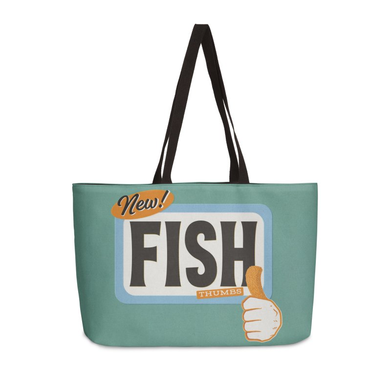 Fish Thumbs Accessories Weekender Bag Bag by The Artist Shop of Ben Stevens