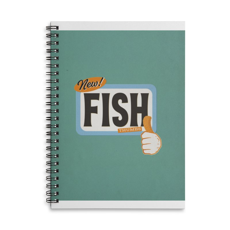 Fish Thumbs Accessories Notebook by The Artist Shop of Ben Stevens