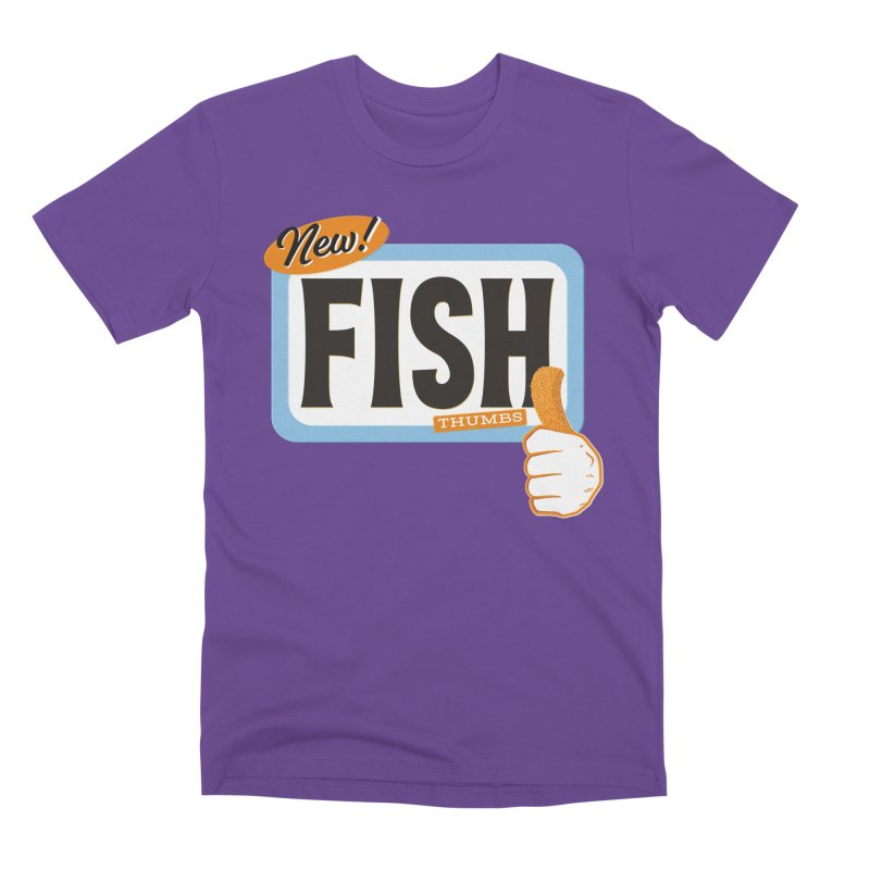 Fish Thumbs Men's Premium T-Shirt by The Artist Shop of Ben Stevens