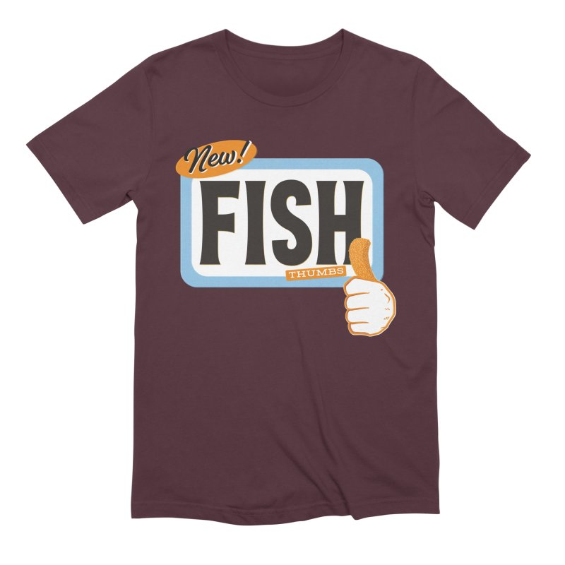 Fish Thumbs Men's Extra Soft T-Shirt by The Artist Shop of Ben Stevens