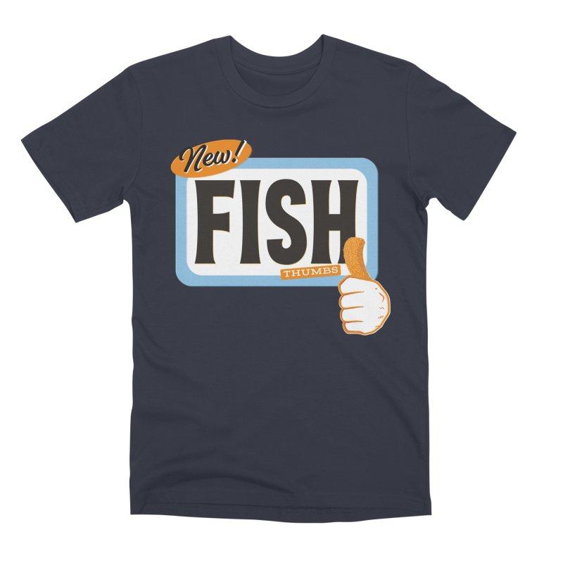 Fish Thumbs Men's Premium T-Shirt by The Artist Shop of Ben Stevens