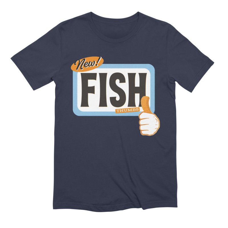 Fish Thumbs Men's Extra Soft T-Shirt by The Artist Shop of Ben Stevens
