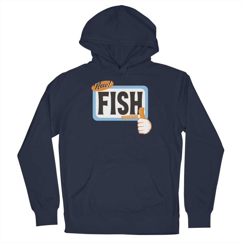 Fish Thumbs Men's Pullover Hoody by The Artist Shop of Ben Stevens