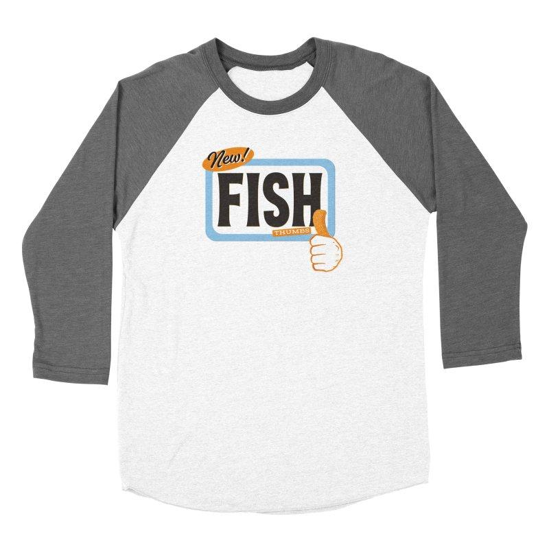 Fish Thumbs Women's Longsleeve T-Shirt by The Artist Shop of Ben Stevens