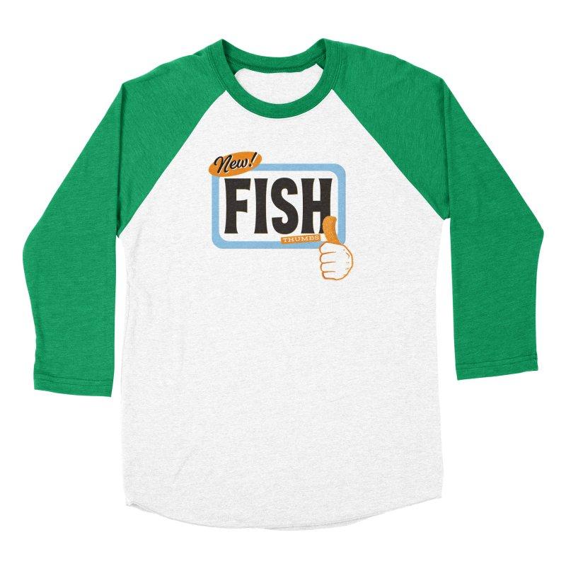 Fish Thumbs Men's Longsleeve T-Shirt by The Artist Shop of Ben Stevens