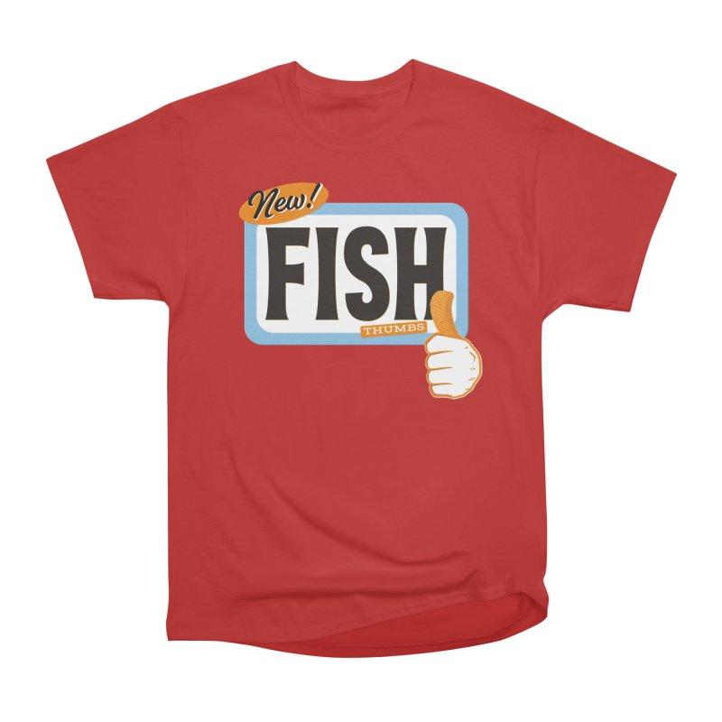 Fish Thumbs Men's Heavyweight T-Shirt by The Artist Shop of Ben Stevens