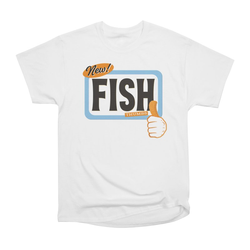 Fish Thumbs Women's Heavyweight Unisex T-Shirt by The Artist Shop of Ben Stevens