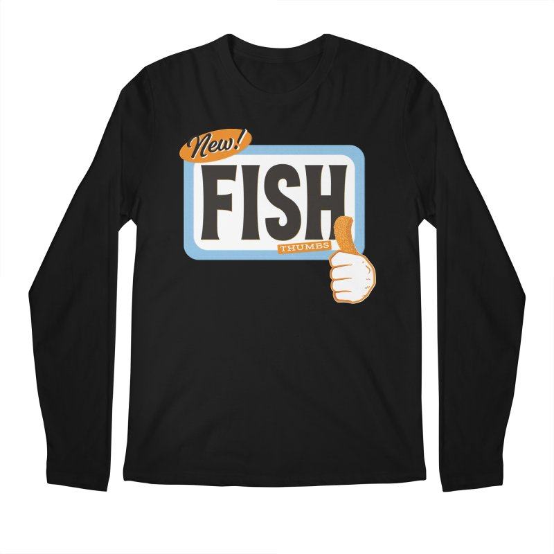 Fish Thumbs Men's Regular Longsleeve T-Shirt by The Artist Shop of Ben Stevens