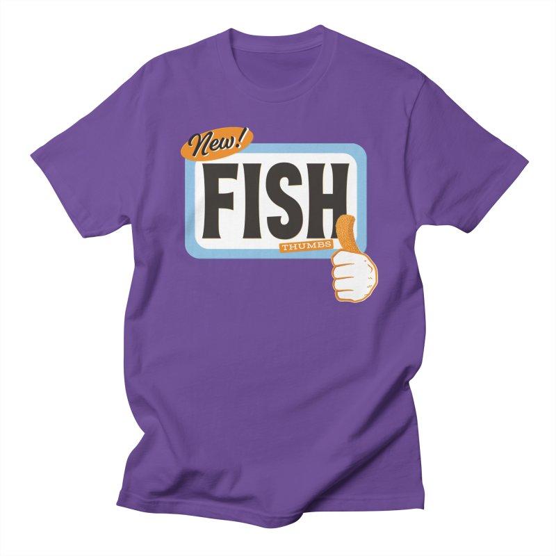 Fish Thumbs Men's Regular T-Shirt by The Artist Shop of Ben Stevens