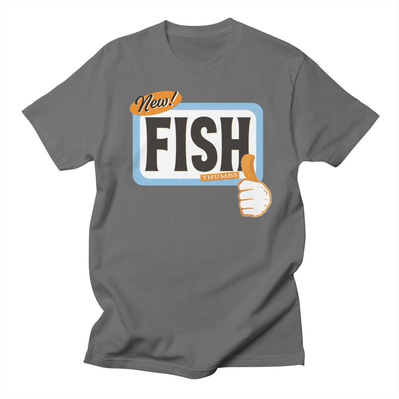 Fish Thumbs Men's Regular T-Shirt by The Artist Shop of Ben Stevens