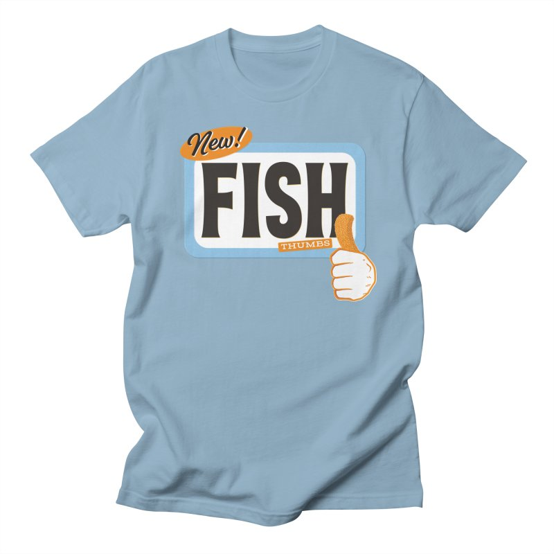 Fish Thumbs Women's Regular Unisex T-Shirt by The Artist Shop of Ben Stevens