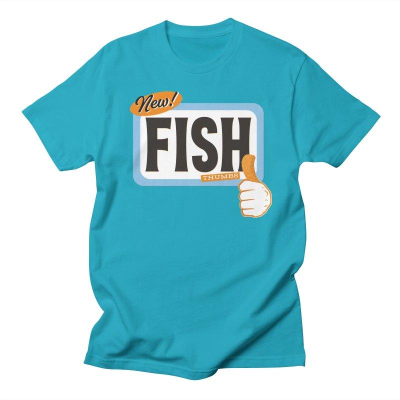 Fish Thumbs Women's Regular Unisex T-Shirt by The Artist Shop of Ben Stevens