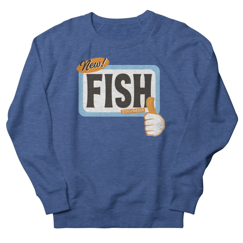 Fish Thumbs Men's Sweatshirt by The Artist Shop of Ben Stevens