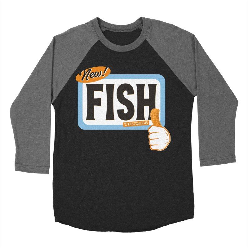 Fish Thumbs Women's Baseball Triblend Longsleeve T-Shirt by The Artist Shop of Ben Stevens