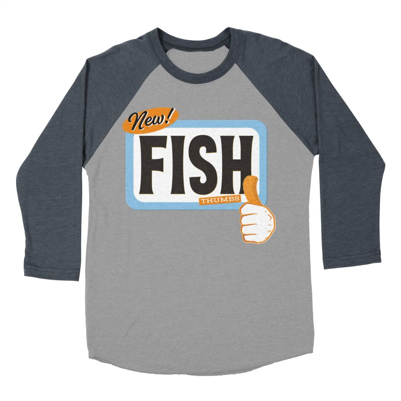 Fish Thumbs Women's Baseball Triblend Longsleeve T-Shirt by The Artist Shop of Ben Stevens