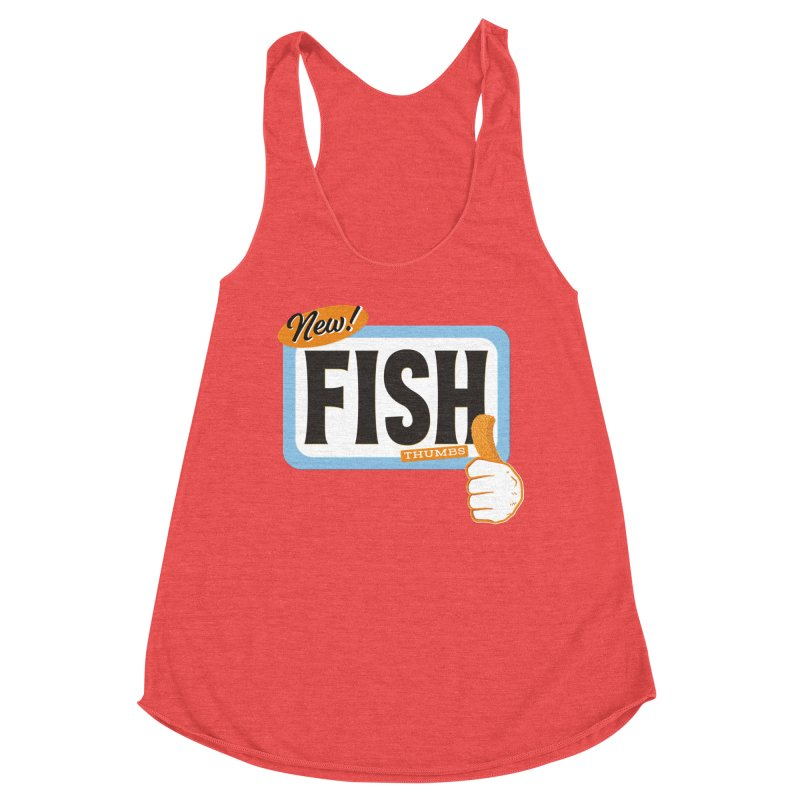 Fish Thumbs Women's Tank by The Artist Shop of Ben Stevens