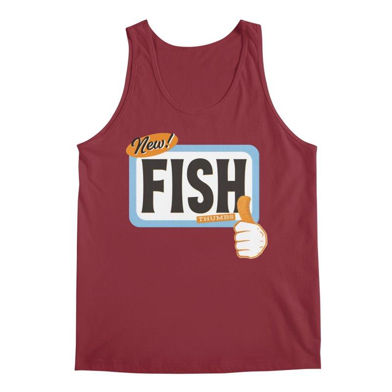 Fish Thumbs Men's Tank by The Artist Shop of Ben Stevens