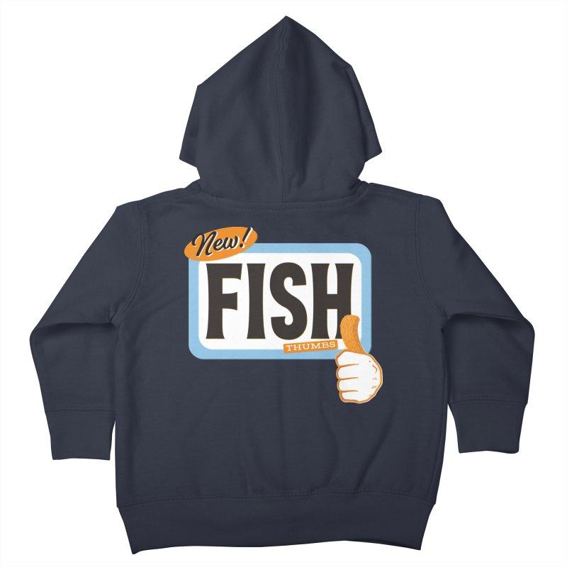 Fish Thumbs Kids Toddler Zip-Up Hoody by The Artist Shop of Ben Stevens
