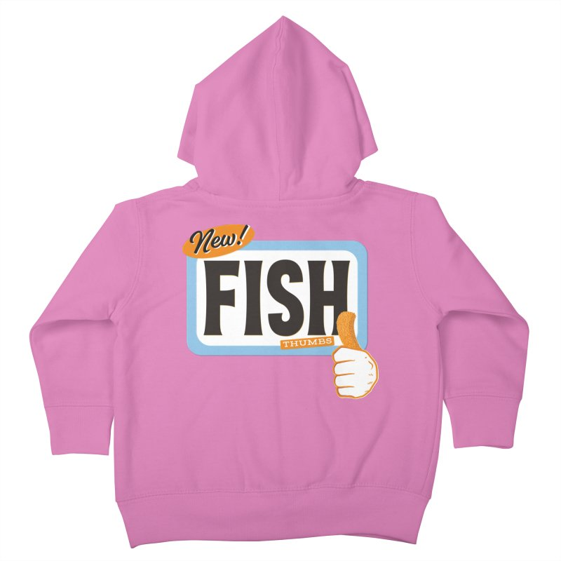 Fish Thumbs Kids Toddler Zip-Up Hoody by The Artist Shop of Ben Stevens
