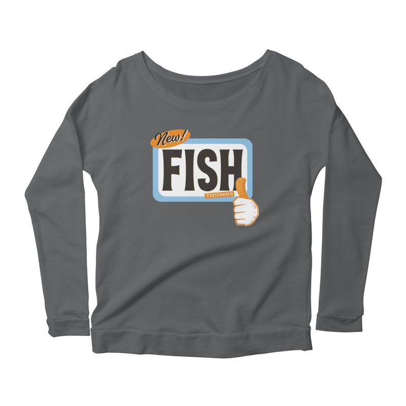 Fish Thumbs Women's Longsleeve T-Shirt by The Artist Shop of Ben Stevens
