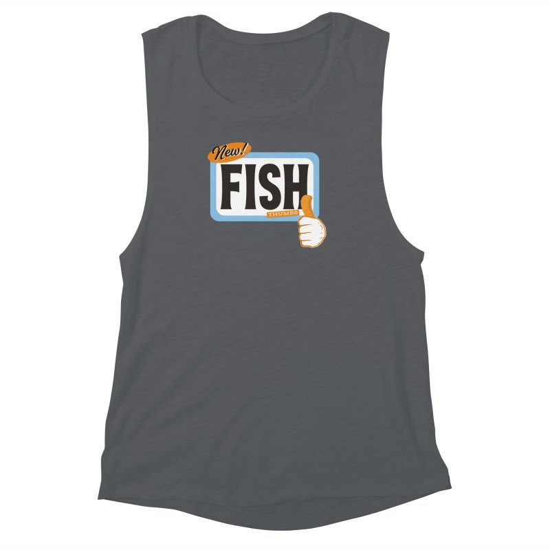 Fish Thumbs Women's Muscle Tank by The Artist Shop of Ben Stevens