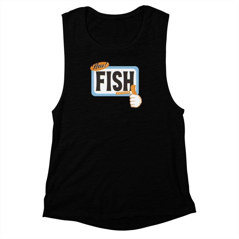 Fish Thumbs Women's Muscle Tank by The Artist Shop of Ben Stevens