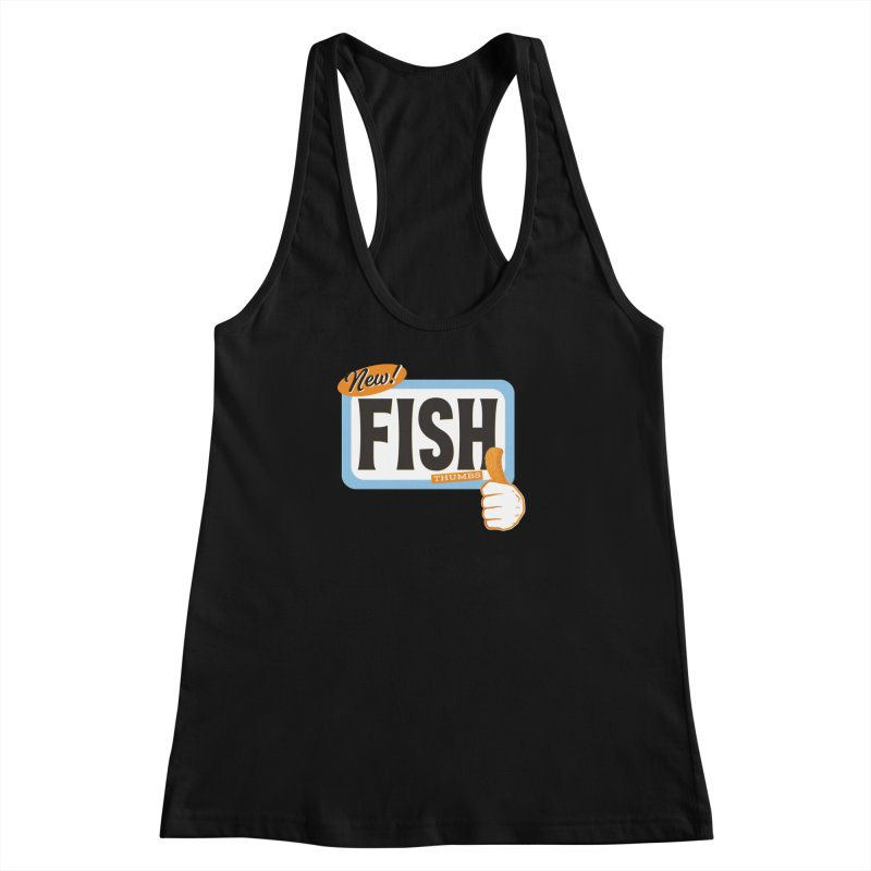 Fish Thumbs Women's Racerback Tank by The Artist Shop of Ben Stevens