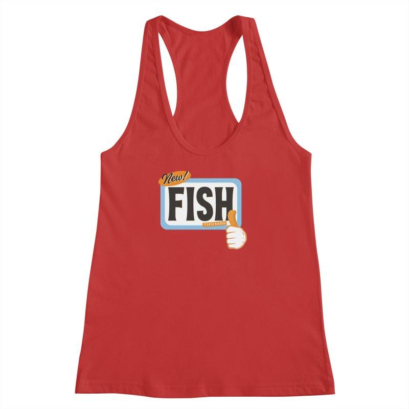 Fish Thumbs Women's Racerback Tank by The Artist Shop of Ben Stevens