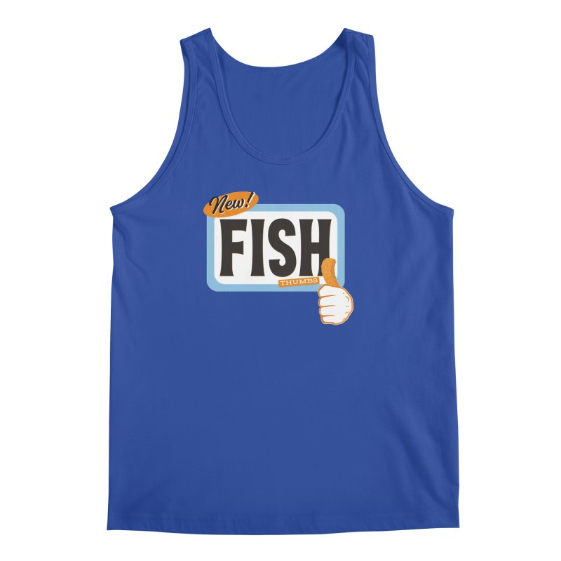 Fish Thumbs Men's Regular Tank by The Artist Shop of Ben Stevens