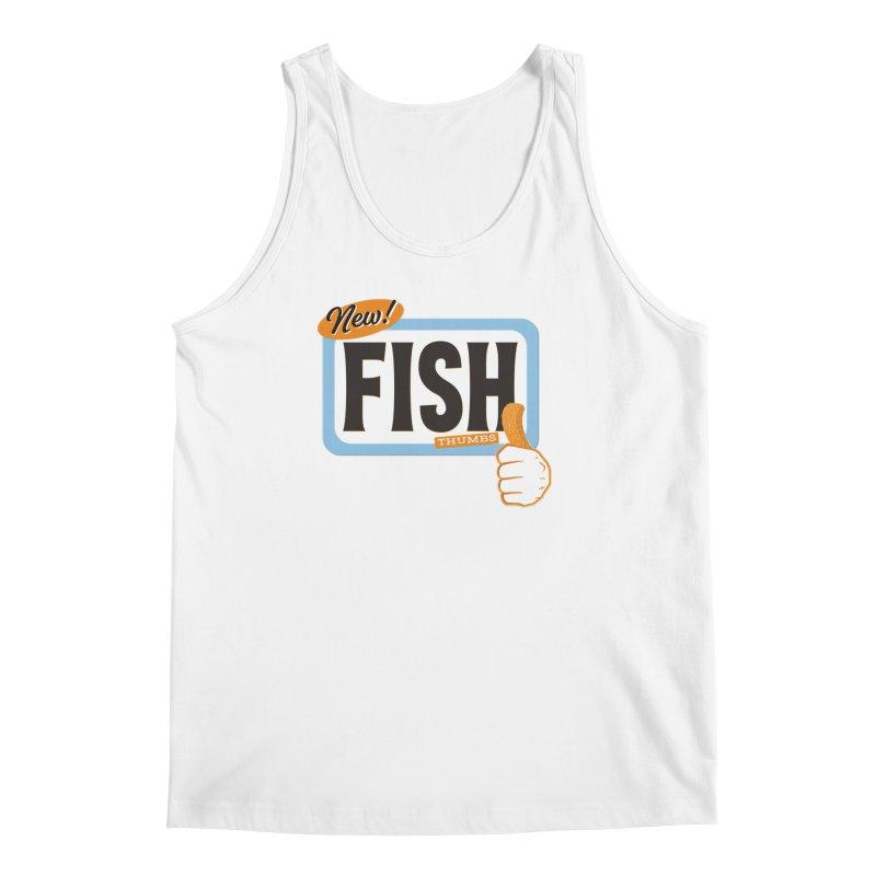 Fish Thumbs Men's Regular Tank by The Artist Shop of Ben Stevens