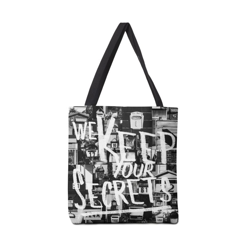 We Keep Your Secrets Accessories Tote Bag Bag by The Artist Shop of Ben Stevens