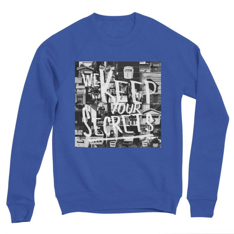 We Keep Your Secrets Men's Sweatshirt by The Artist Shop of Ben Stevens